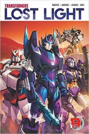 IDW Transformers: Lost Light Volume 1 TPB Listed on Amazon.com