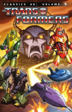 Transformers News: IDW Transformers Classics UK Volume 5 Preview