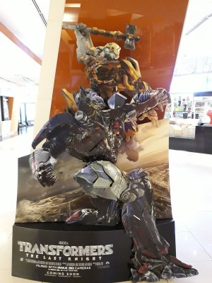 Transformers News: New Stand for Transformers: The Last Knight