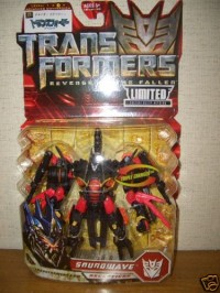 Transformers News: Chara Hobby ROTF Black Soundwave, in Package