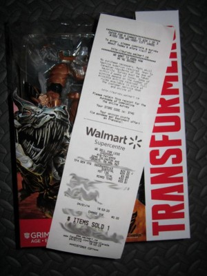 Transformers: Age of Extinction Voyager Wave 1 Spotted in Canada