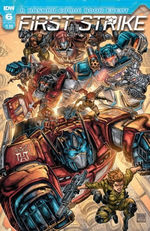 Full Preview of IDW First Strike #6 #HasbroFirstStrike