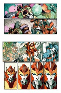 Transformers: More Than Meets The Eye Ongoing #3 Inks and Colors