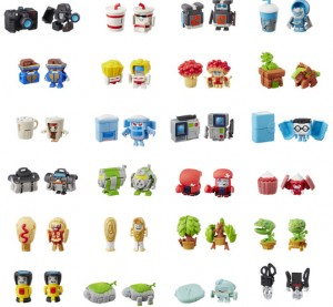 Official Images of 24 Transformers Bot Bots with Both Robot and Alt Mode