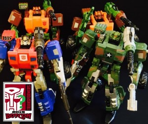 Transformers News: BotCon 2015 Transformers Exclusives: Comparison Images of Possible G2 General Optimus Prime