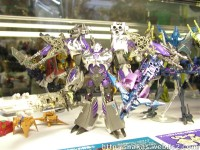 Transformers News: World Hobby Fair 2012 Transformers Prime Arms Micron Display