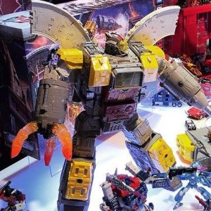 Siege Omega Supreme Photographed on NY Toy Fair 2019 Showfloor #tfny #hasbrotoyfair