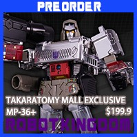 Transformers News: RobotKingdom.com Newsletters Encore Beast Machines Primal,  TTMall Exclusive MP Megatron and More!