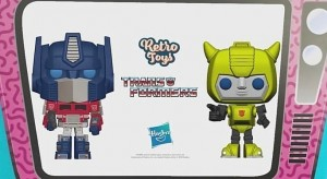 Transformers Funko Pops Revealed to Be G1 Cartoon Heads on G1 Toy Bodies