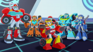 Transformers News: First Trailer for Transformers: Rescue Bots Academy