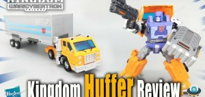 New Video Review of Transformers Kingdom Deluxe Class Huffer