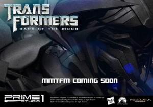 Transformers News: Prime 1 Studio Museum Masterline Series Teases Dark of the Moon Shockwave