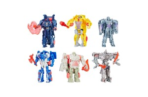 New Transformer Toys at Target.com: Exclusive TLK 6 Pack and Rescue Bots Optimus Race Track Trailer