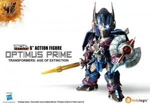 Transformers News: Color Images of Kids Logic Mecha Nations MN04 Age of Extinction Optimus Prime