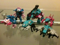Transformers News: Toy Images of Hasbro's Seacons / Piranacon 2010 reissue