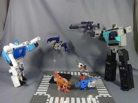 Transformers News: In-Hand Images: e-Hobby / TFCC Shattered Glass Soundwave vs. Blaster
