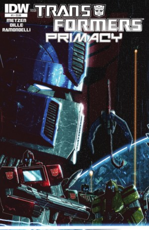 Transformers News: IDW Transformers: Primacy #1 Preview