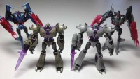 Transformers News: Takara Tomy EZ-SP02 Megatron and Starscream Comparison Image