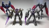 Transformers News: Takara Tomy EZ-SP02 Megatron and Starscream Comparison Image