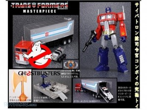 Transformers News: Potential Ghostbusters and MP-10 Optimus Prime Crossover Figure, Encore Graphy, Noise, and Frenzy