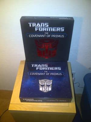 Transformers News: Transformers: The Covenant of Primus In-Hand Images