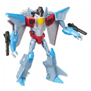 Transformers News: Transformers Robots in Disguise Warrior Starscream and Power Surge Starscream Available on Toysrus Websites