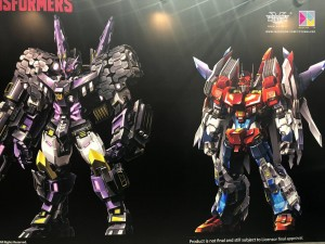 Transformers News: Flame Toys IDW Non-Transforming Figures at Toysoul 2017