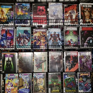 New Transformers, GI Joe, TMNT, Pony and other comic books in stock at the Seibertron Store