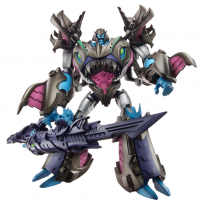 Transformers News: Additional Official Images: Transformers Prime Beast Hunters Voyager Class Megatron