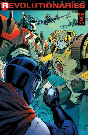 Full Preview for IDW Revolutionaries #5