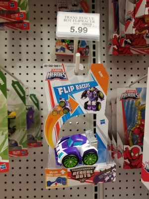 Transformers News: Transformers: Rescue Bots Flip Racers Wave 2 Found at US Retail