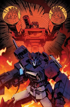 Transformers News: Alternate IDW Transformers #56 Cover Shown Off