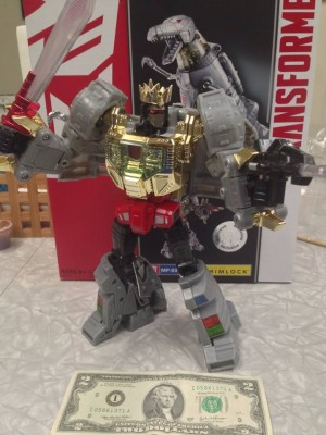 Toys R Us Exclusive Masterpiece Grimlock Rerelease Found at US Retail