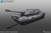 Aligned Megatron Tank Mode Concept Art