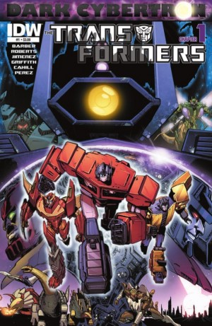 Transformers News: IDW Transformers: Dark Cybertron #1 Preview
