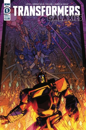 Transformers News: IDW Transformers: Galaxies #6 Review