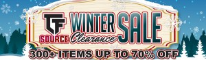 TFSource News! The Winter Clearance Sale has begun! Save BIG on 300+ items!