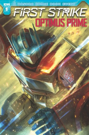 Transformers News: iTunes Preview for IDW First Strike: Optimus Prime #1 Tie-In #HasbroFirstStrike