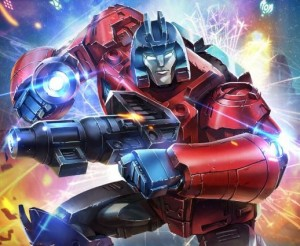 Official Artwork for Transformers Power of the Primes Slash, Cloudburst, Optimus Prime  and Orion Pax