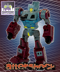 Transformers News: Charticon 2013 Exclusive Figure Revealed
