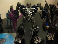 Additional Images of Transformers DOTM Voyager Shockwave Repaint with Translucent Cannon