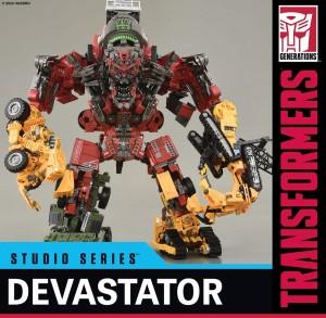 Transformers News: First Look At Transformers Studio Series Voyager Class Skipjack As Leg For Devastator