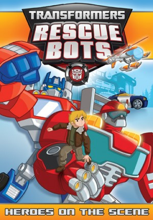 "Transformers News: Transformers: Rescue Bots ""Heroes on the Scene"" DVD"