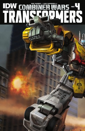 IDW Transformers: Combiner Wars #4 - The Transformers #41 Review