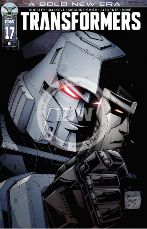 Transformers News: Review of IDW Transformers 'A Bold New Era' Issue #17
