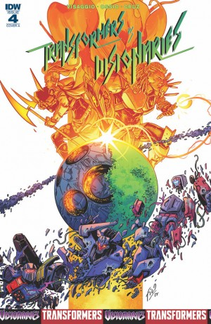iTunes Preview for IDW Transformers vs Visionaries #4