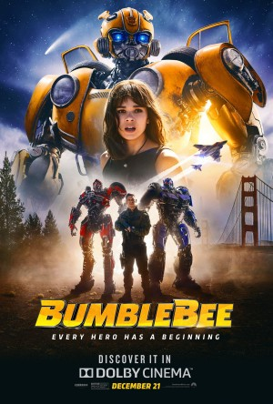 Transformers News: Dolby Cinema reveals new exclusive Bumblebee Movie poster