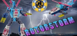 New English Video Review of Transformers Generations Selects Rotorstorm