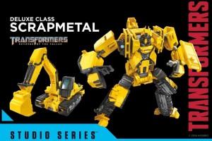 Transformers News: Transformers Studio Series 41 Deluxe Class Constructicon Scrapmetal Video Review!