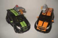 Transformers DOTM Deluxes Mudflap & Skids Side by Side Images
